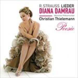 Lieder - CD Audio di Richard Strauss,Christian Thielemann,Münchner Philharmoniker,Diana Damrau