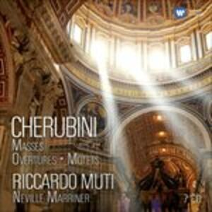 Cherubini 250th Anniversary - CD Audio di Luigi Cherubini,Riccardo Muti