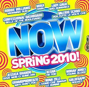 Now Spring 2010! - CD Audio