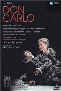 Giuseppe Verdi. Don Carlo (2 DVD) di Nicholas Hytner - DVD