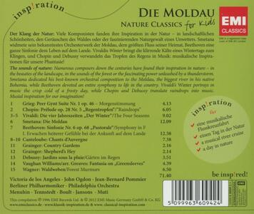 Die Moldau. Nature - CD Audio di Bedrich Smetana - 2