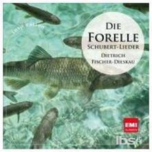 Die Forelle. die Schonsten - CD Audio di Franz Schubert