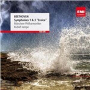 Sinfonie n.1, n.3 - CD Audio di Ludwig van Beethoven,Münchner Philharmoniker,Rudolf Kempe