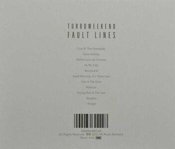 Fault Lines - CD Audio di Turboweekend - 2