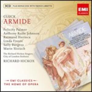 Armide - CD Audio di Christoph Willibald Gluck,Richard Hickox,Anthony Rolfe Johnson,Felicity Palmer