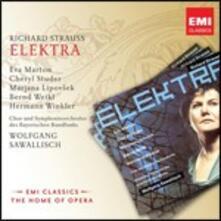 Elektra - CD Audio di Richard Strauss,Wolfgang Sawallisch,Eva Marton,Cheryl Studer,Marjana Lipovsek