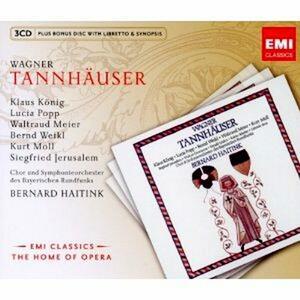 Tannhäuser - CD Audio di Richard Wagner,Bernard Haitink
