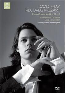 David Fray. Records Mozart. Piano Concertos Nos. 22, 25 - DVD