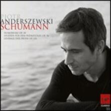 Humoreske op.20 - Studien für den Pedalflügel op.56 - Gesänge der Frühe op.133 - CD Audio di Robert Schumann,Piotr Anderszewski