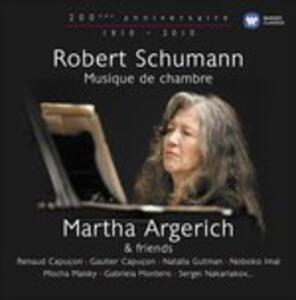 Robert Schumann 1810-1856. Musica da camera - CD Audio di Robert Schumann,Martha Argerich