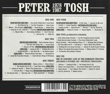 1978-1987 - CD Audio di Peter Tosh - 2
