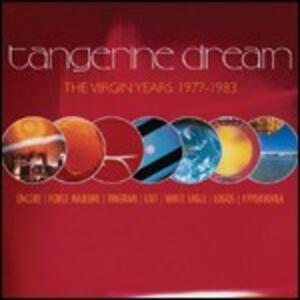 The Virgin Years 1977-1983 - CD Audio di Tangerine Dream