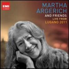 Live from the Lugano Festival 2011 - CD Audio di Martha Argerich