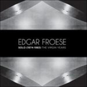 Solo 1974-1983. The Virgin Years - CD Audio di Edgar Froese
