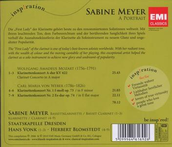 Sabine Meyer Portrait - CD Audio di Sabine Meyer - 2