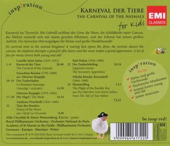 Karneval der Tiere - CD Audio - 2