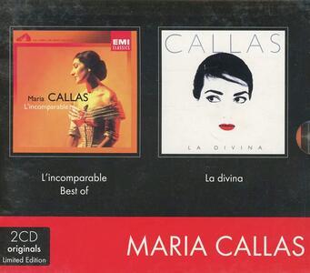 Incomparable - Divina - CD Audio di Maria Callas