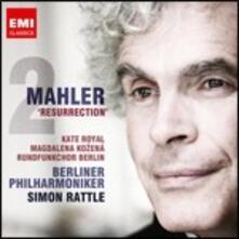 Sinfonia n.2 - CD Audio di Gustav Mahler,Magdalena Kozena,Kate Royal,Berliner Philharmoniker,Simon Rattle