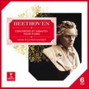 Concerti per pianoforte - Sonate per pianoforte - CD Audio di Ludwig van Beethoven,Hans Richter-Haaser
