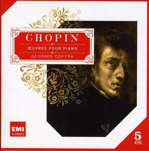 Chopin Piano - CD Audio di Fryderyk Franciszek Chopin,György Cziffra