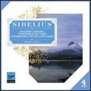 Poemi sinfonici - Cantate - CD Audio di Jean Sibelius,Paavo Järvi