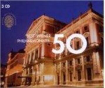 50 Best - CD Audio di Wiener Philharmoniker
