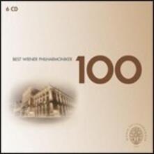 100 Best Wiener Philharmoniker - CD Audio di Wiener Philharmoniker