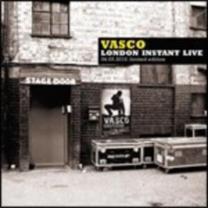 London Instant Live 04.05.2010 - CD Audio di Vasco Rossi