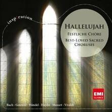 Hallelujah. Best-Loved Sacred Choruses - CD Audio