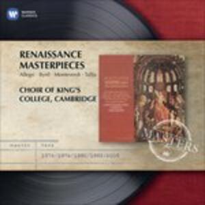 Renaissance Masterpieces - CD Audio di King's College Choir