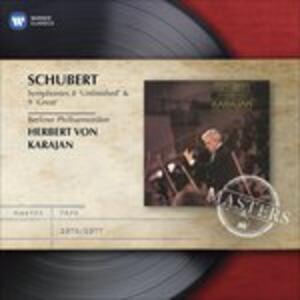 Sinfonie n.8, n.9 - CD Audio di Franz Schubert,Herbert Von Karajan,Berliner Philharmoniker