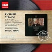 Poemi sinfonici - CD Audio di Richard Strauss,Staatskapelle Dresda,Rudolf Kempe