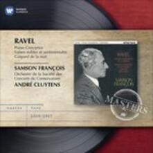 Concerti per pianoforte - CD Audio di Maurice Ravel,André Cluytens,Samson François,Orchestre de la Société des Concerts du Conservatoire