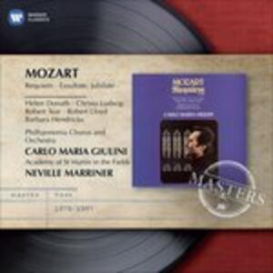 Requiem - Exsultate Jubilate - CD Audio di Wolfgang Amadeus Mozart,Carlo Maria Giulini,Neville Marriner