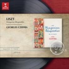 7 Rapsodie ungheresi - CD Audio di Franz Liszt,György Cziffra