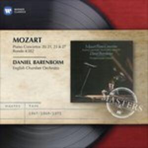 Concerti per pianoforte n.20, n.21, n.23, n.27 - CD Audio di Wolfgang Amadeus Mozart,Daniel Barenboim