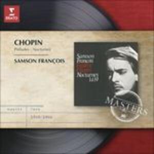 Notturni - Preludi - CD Audio di Fryderyk Franciszek Chopin,Samson François