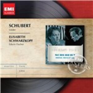 Lieder - CD Audio di Franz Schubert,Elisabeth Schwarzkopf