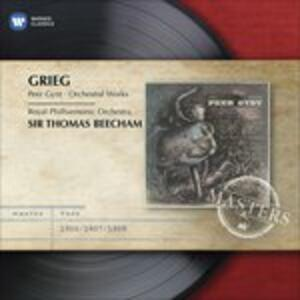 Peer Gynt - CD Audio di Edvard Grieg,Sir Thomas Beecham,Royal Philharmonic Orchestra