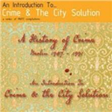 An Introduction to... - CD Audio di Crime and the City Solution