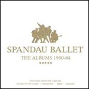 The Albums 1980-1984 - CD Audio di Spandau Ballet
