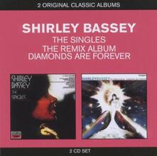 The Singles - the Remix Album. Diamonds Are Forever - CD Audio di Shirley Bassey