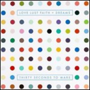 Love, Lust, Faith + Dreams - CD Audio di 30 Seconds to Mars