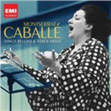 Montserrat Caballé Sings Bellini & Verdi - CD Audio di Vincenzo Bellini,Giuseppe Verdi
