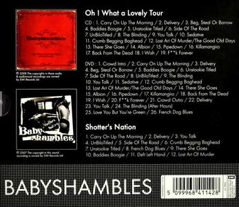 Shotter's Nation. Live - CD Audio di Babyshambles - 2