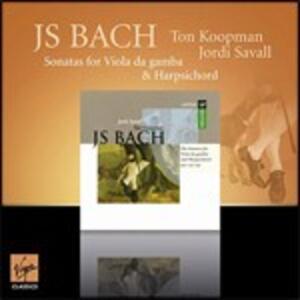 Sonate per viola da gamba - CD Audio di Johann Sebastian Bach,Jordi Savall