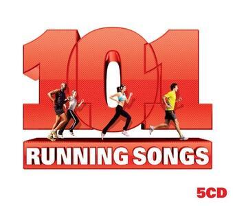 101 Running Songs - CD Audio