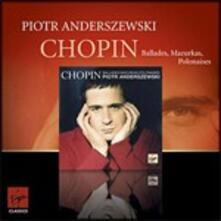 Ballate - Mazurke (Premium Series) - CD Audio di Fryderyk Franciszek Chopin,Piotr Anderszewski