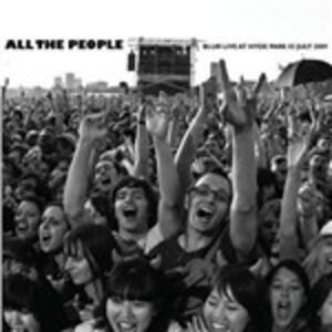 All the People. Live at Hyde Park 3/7/2009 - CD Audio di Blur