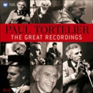 Great Emi Recordings - CD Audio di Paul Tortelier